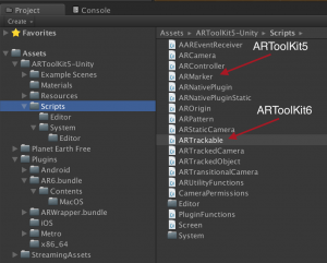 ARToolKit6 import mess