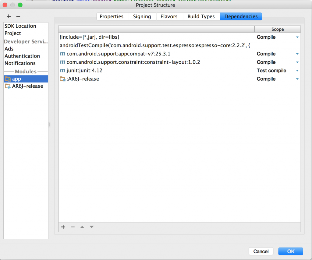 Integrate ARToolKIt6-Android-SDK