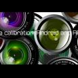 Feature image camera calibration